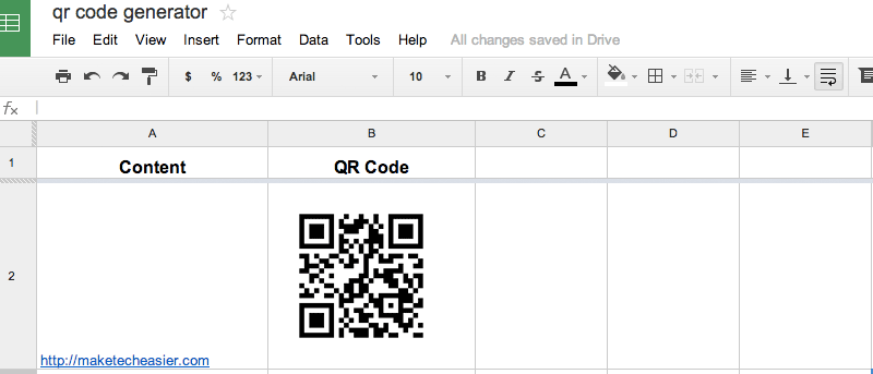 How to Create QR Code in Google Drive - Make Tech Easier