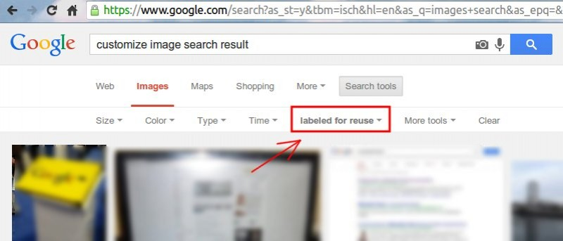Customize Google Images Search Results with this Simple Trick