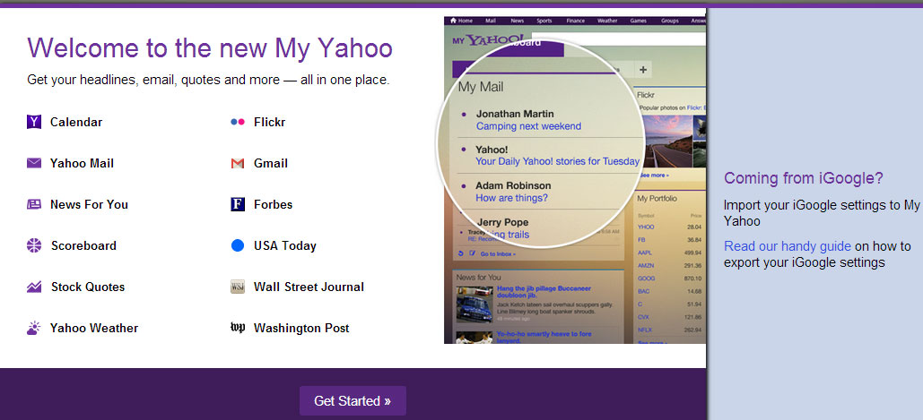 my-yahoo-get-started