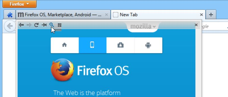 Preview Firefox Tabs without Clicking on Them