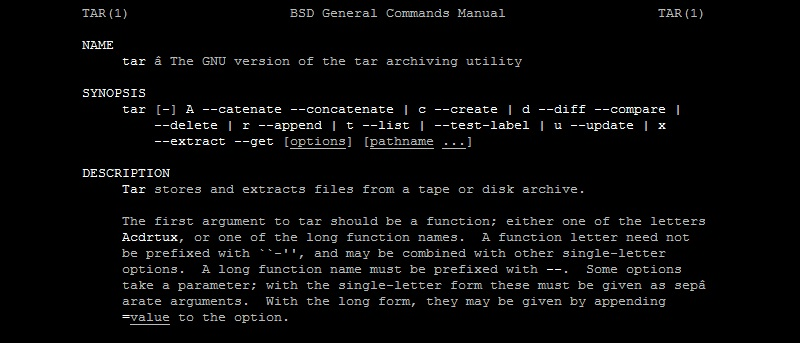 In Depth Look at Linux's Archiving and Compression Commands