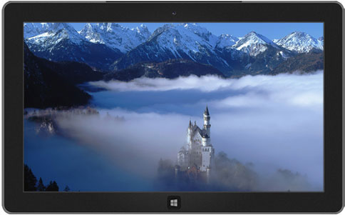 windows 8 themes - castles