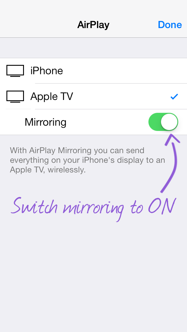 Use Airplay Mirroring From iPhone/iPad To Apple TV, Mac or