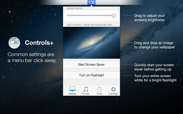 Controls+ for Mac