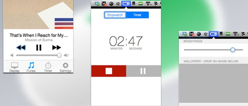 How to Get iOS 7 Like Control Center On Your Mac