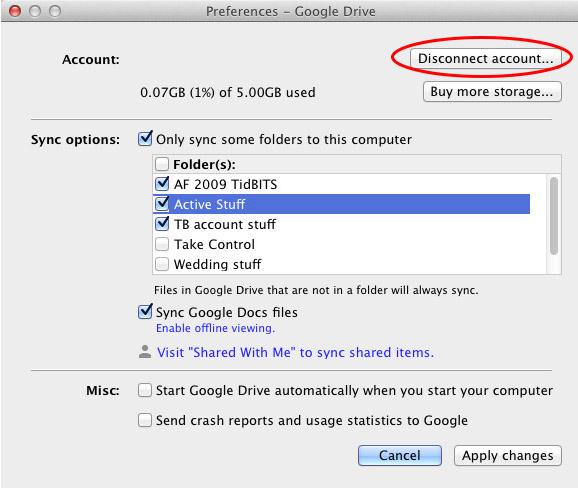 Google-Drive-Crashing-Disconnect-Account