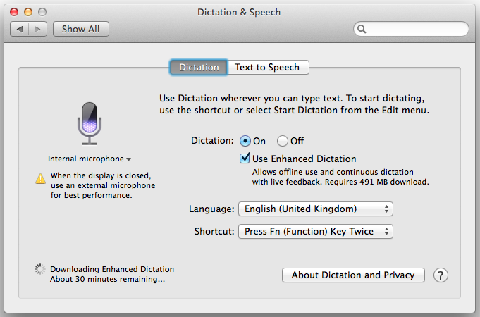Offline-Dictation-Mac-Main