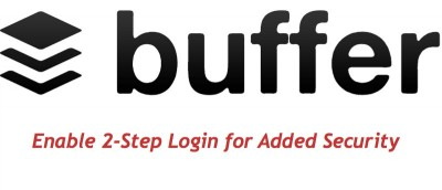 How to Enable Two-Factor Authentication in Buffer