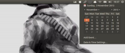 Date/Time Missing In the Menu Bar in Ubuntu 13.10? Here's the Fix!