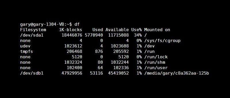 Understanding the Linux df And du Commands - Make Tech Easier