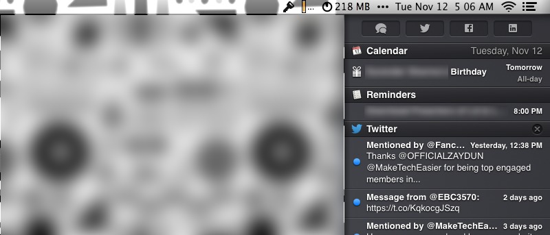 Disable Notifications on the Lock Screen in OS X Mavericks