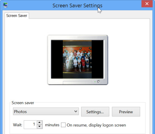 netbook as photo frame
