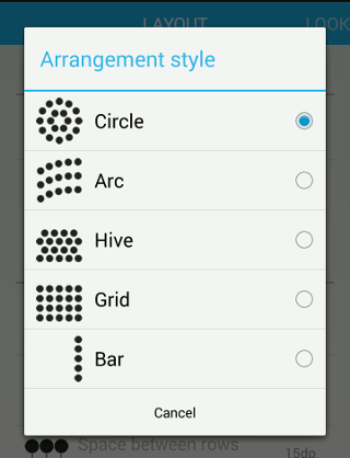 slide-launcher-layout-style