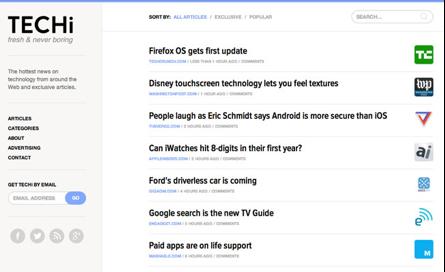 techi website