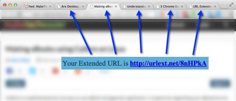 UrlExt Lets You Open Multiple Tabs via One URL - Make Tech Easier