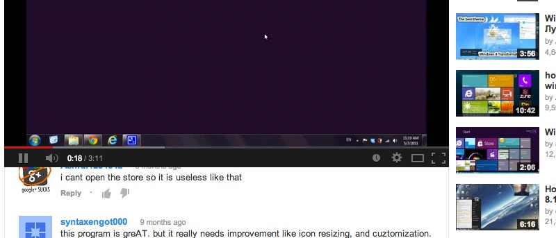 Pin YouTube Videos to the Page so You Can Scroll Through Comments [Chrome]