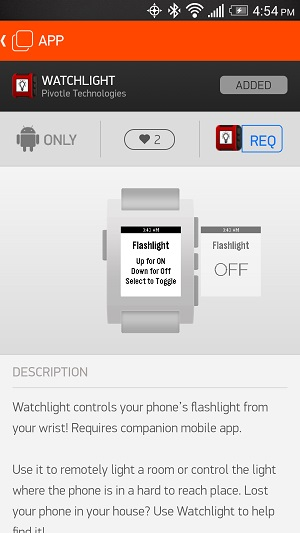5PebbleApps-Watchlight