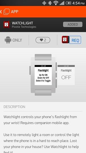5PebbleApps-Watchlight