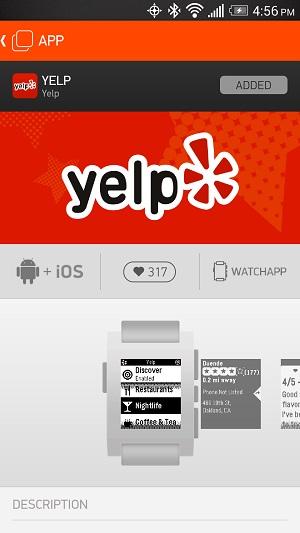 5PebbleApps-Yelp