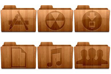 Change-Folder-Icons-Wood-Icons