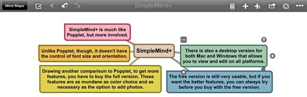 VisualNotes-SimpleMind