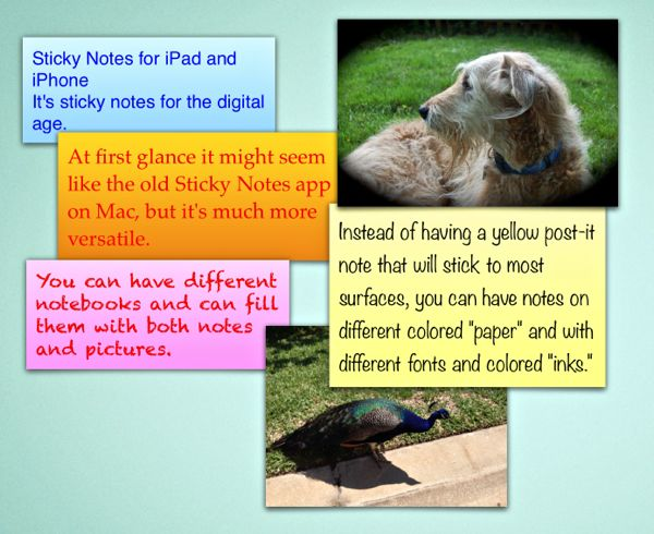VisualNotes-StickyNotes