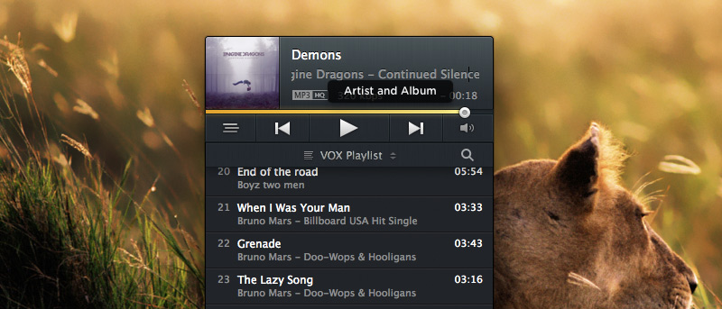 Use Your Mac's Media Keys To Control Vox Instead of iTunes