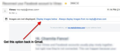 Don't Like Gmail's New Always Display External Images Feature? Here's How to Disable It