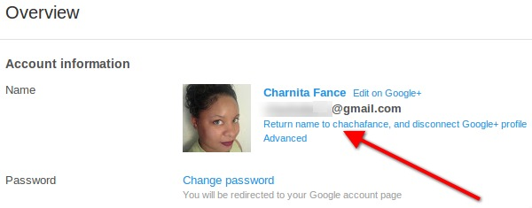 Return your YouTube name to your previous YouTube username.