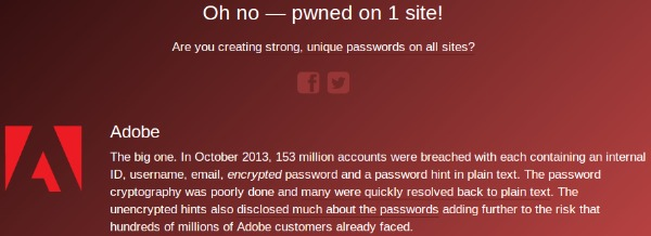 Uh oh, you've been pwned!