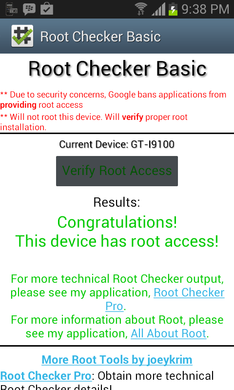 root-checker-success