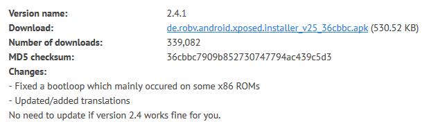 xposed-framework-download
