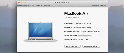 4 Ways to Find Your Mac's Serial Number