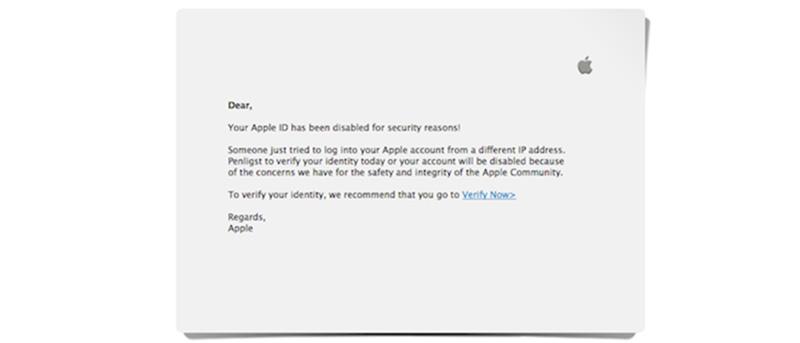 New Apple ID Phishing Scam Going Around The Web: Beware
