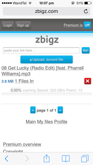 Download-Torrents-iPhone-Zbigz-Downloading