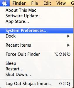 Find-IP-Adress-and-MAC-Address-System-Prefs-Apple-Menu
