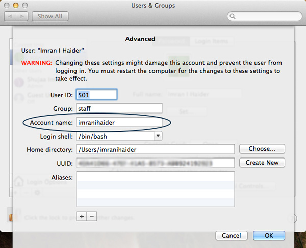 How To Hide User Accounts From The Log-In Screen In OS X