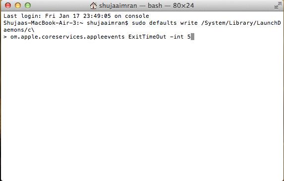 Speed-Up-Shutdown-Time-OS-X-Command-Terminal