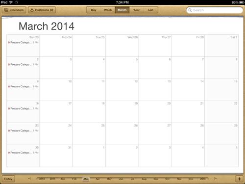 gcalendar-calendar