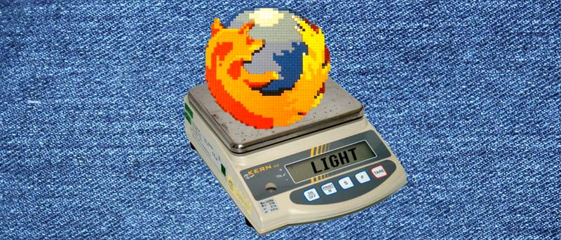 Light – A Lightweight and Speedy Firefox Alternative