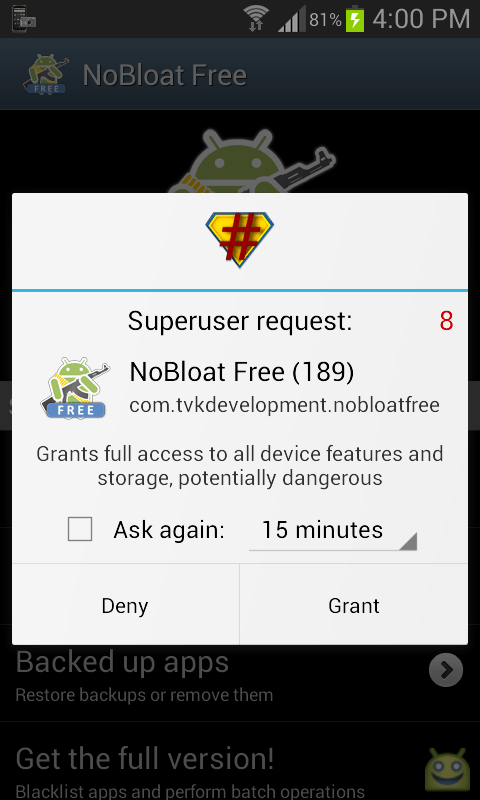 nobloat-superuser