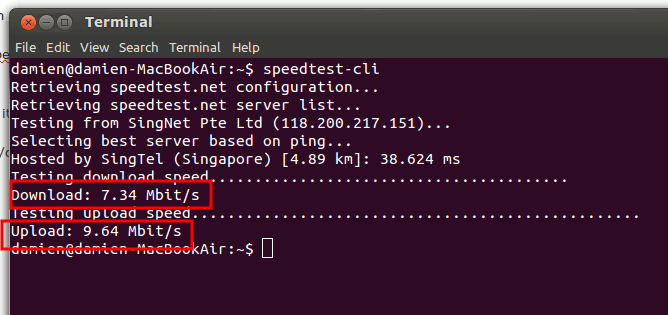 speedtest-cli-results