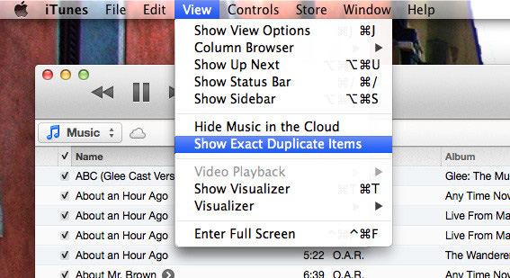 How-To-Find-Duplicates-iTunes-Show-Exact-Duplicates