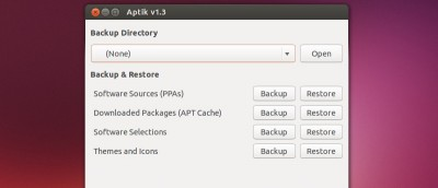 Re-installing Your Favorite Packages After a Ubuntu Re-install Using Aptik