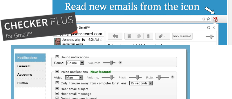 How To Get Pop-up and Audio Notifications For Gmail in Google Chrome