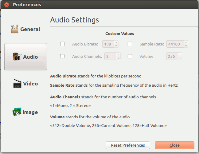 formatjunkie-audio-settings
