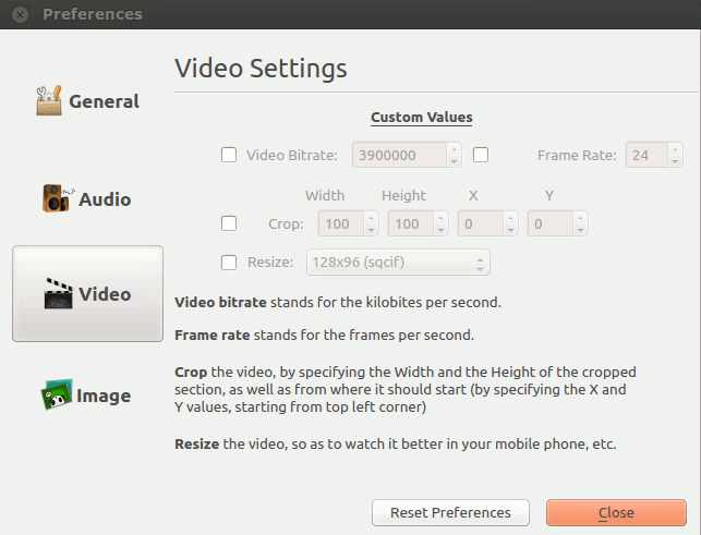 formatjunkie-video-settings