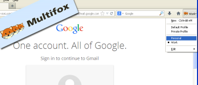 How To Login Multiple Gmail, Yahoo, Twitter and Facebook Accounts in Firefox