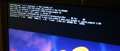 Watching Videos From the Command Line on the Raspberry Pi