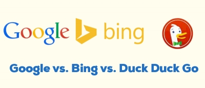 Google vs. Bing vs. DuckDuckGo – Which One is for You?
